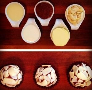 brigadear amendoa e ingredientes