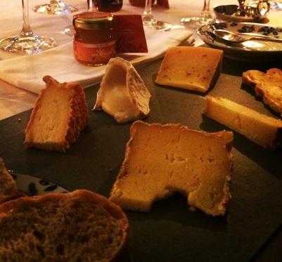 queijo e mel