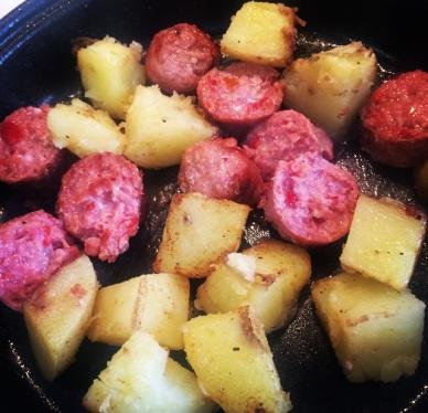 com batatas