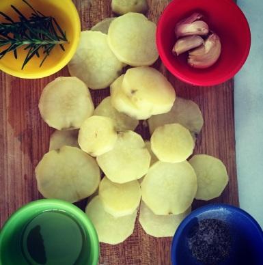 mise en place batata