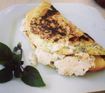 omelete de queijos pronto2