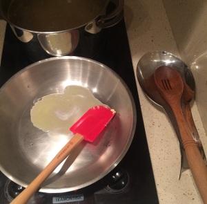 ruote manteiga derretida