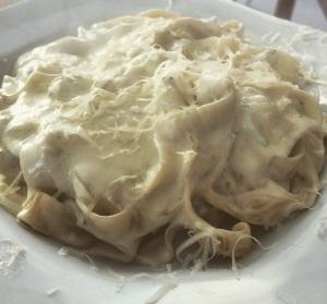 tagliarini com queijos 1