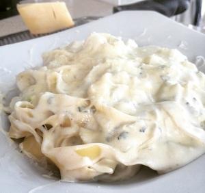 tagliarini com queijos 4
